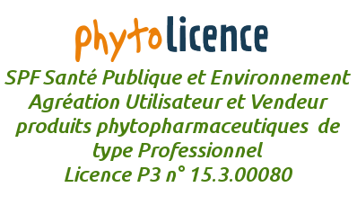 Phytolicence P3 Professionnel SPF Santé Publique et Environnement